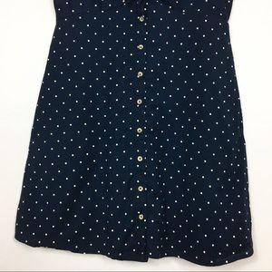 Abercrombie & Fitch Dresses - Abercrombie & Fitch Blue Polka Dot Dress Medium